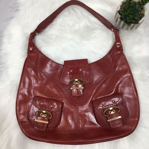 💗 Kate Landry Purse 💗 Red Leather